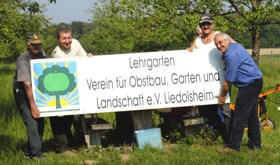 Lehrgarten_Hinweisschild